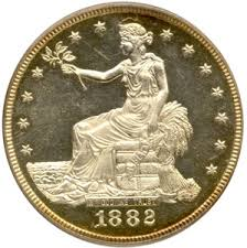 Early Silver Dollars - Seated and Trade Dollars