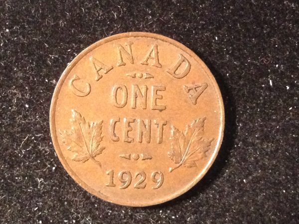 1929 Canada One Cent