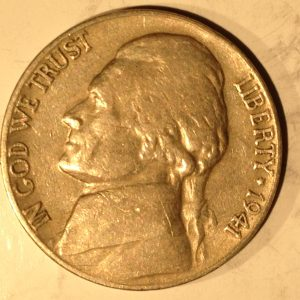 1958-D Jefferson Nickel Gem BU Double Die Crack - Nashua Coins and